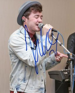 Jake Roche Signed 8x10 Photo