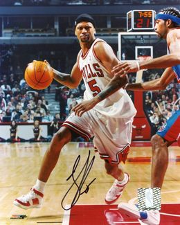 Jalen Rose Signed 8x10 Photo