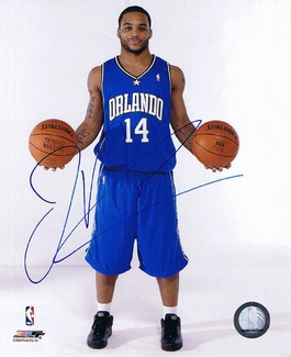 Jameer Nelson Signed 8x10 Photo