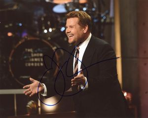 James Corden Signed 8x10 Photo