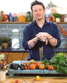 Jamie Oliver Signed 8x10 Photo - Video Proof