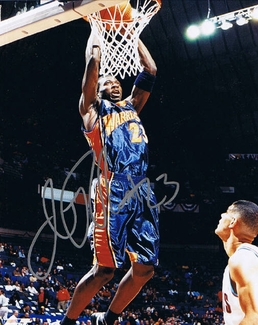 Jason Richardson Signed 8x10 Photo - Proof