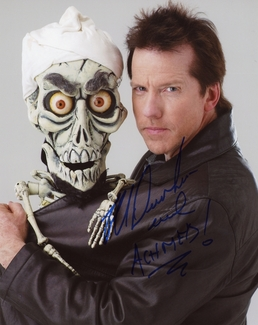 Jeff Dunham Signed 8x10 Photo