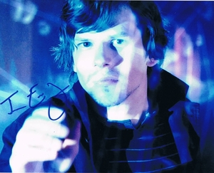 Jesse Eisenberg Signed 8x10 Photo
