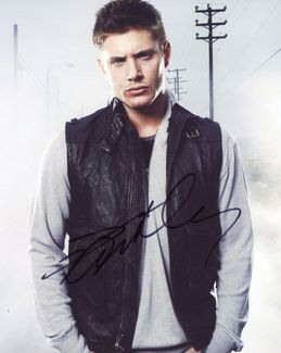Jensen Ackles Signed 8x10 Photo - Video Proof