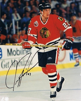 Jeremy Roenick Signed 8x10 Photo