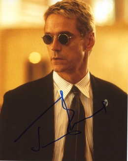 Jeremy Irons Signed 8x10 Photo - Video Proof
