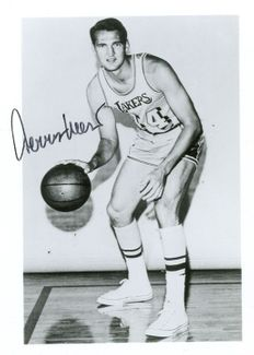 Jerry West Signed 3.5x5 Photo