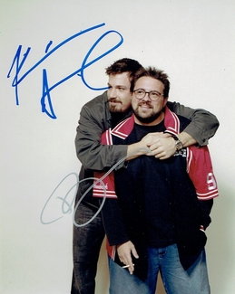 Kevin Smith & Ben Affleck Signed 8x10 Photo