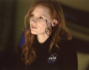 Jessica Chastain Signed 8x10 Photo - Video Proof