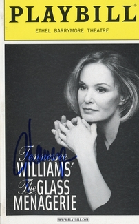Jessica Lange Signed Playbill