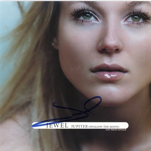 Jewel Signed CD Insert