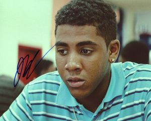 Jharrel Jerome Signed 8x10 Photo