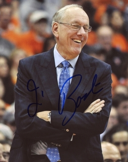 Jim Boeheim Signed 8x10 Photo