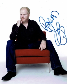 Jim Gaffigan Signed 8x10 Photo - Video Proof