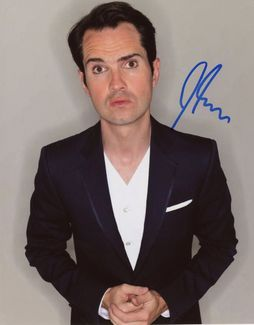 Jimmy Carr Signed 8x10 Photo