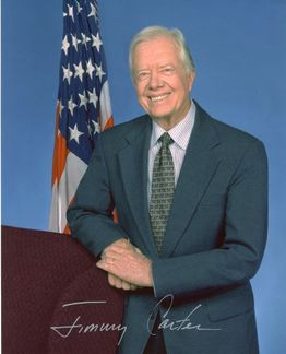 Jimmy Carter Signed 8x10 Photo