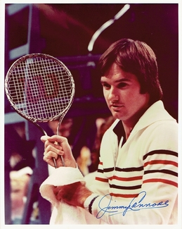 Jimmy Connors Signed 8x10 Photo