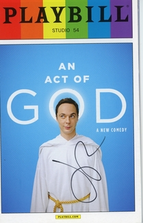 Jim Parsons Signed Playbill