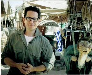 J.J. Abrams Signed 8x10 Photo