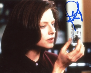 Jodie Foster Signed 8x10 Photo
