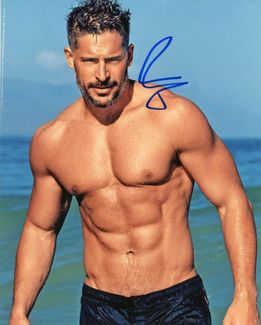 Joe Manganiello Signed 8x10 Photo