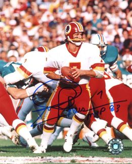 Joe Theismann Signed 8x10 Photo