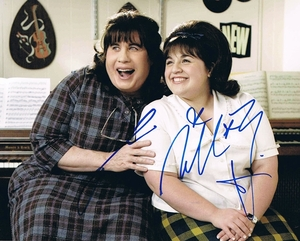 John Travolta & Nikki Blonsky Signed 8x10 Photo - Video Proof