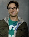 Johnny Galecki Signed 8x10 Photo