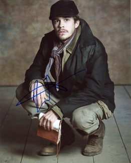 Johnny Simmons Signed 8x10 Photo