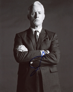 John Slattery Signed 8x10 Photo - Video Proof