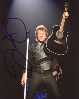 Jon Bon Jovi Signed 8x10 Photo