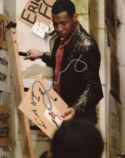 Jonathan Majors Signed 8x10 Photo