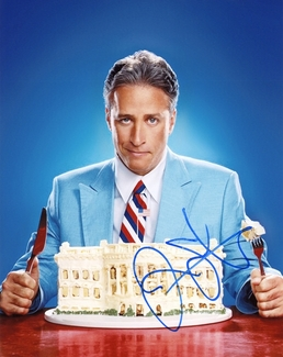 Jon Stewart Signed 8x10 Photo - Video Proof