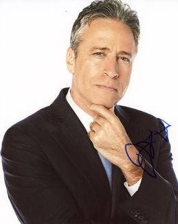 Jon Stewart Signed 8x10 Photo