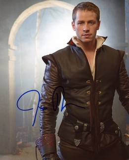 Josh Dallas Signed 8x10 Photo - Video Proof