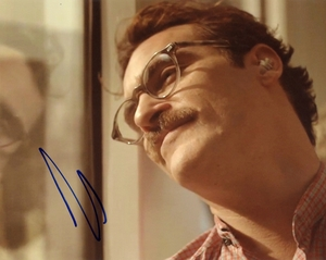 Joaquin Phoenix Signed 8x10 Photo