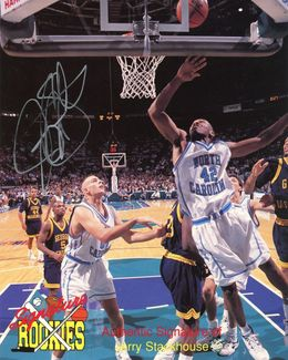 Jerry Stackhouse Signed 8x10 Photo