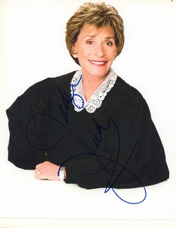 Judge Judy Sheindlin Signed 8x10 Photo