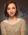 Julia Sarah Stone Signed 8x10 Photo