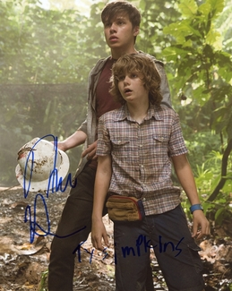 Ty Simpkins & Nick Robinson Signed 8x10 Photo - Video Proof
