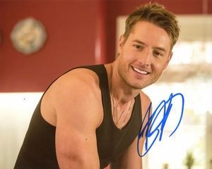 Justin Hartley Signed 8x10 Photo - Video Proof