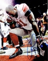 Justin Tuck Signed 8x10 Photo - Video Proof