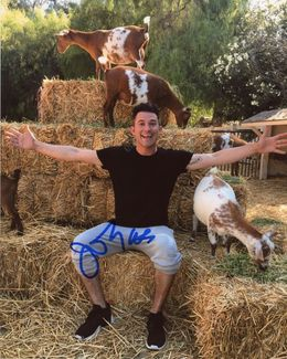 Justin Willman Signed 8x10 Photo