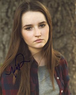 Kaitlyn Dever Signed 8x10 Photo