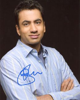 Kal Penn Signed 8x10 Photo