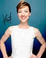 Karine Vanasse Signed 8x10 Photo - Video Proof