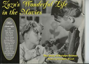 Karolyn Grimes Signed Book
