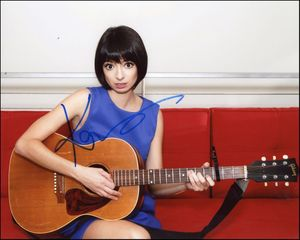Kate Micucci Signed 8x10 Photo