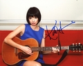 Kate Micucci Signed 8x10 Photo - Video Proof